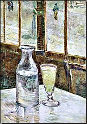 Abbildung 2: Vincent van Gogh - Stillleben mit Absinth (1887)