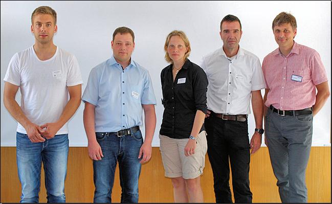 Referenten des 4. Freiburger MALDI-Meetings