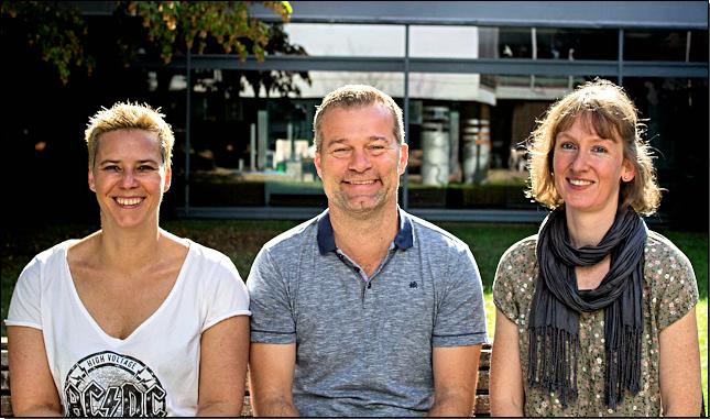 Das neue Schulleitungsteam (von links: Katja Bertold, Dr. Marc Hoferer, Eva-Maria Häringer)